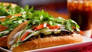 Grilled Lemongrass Pork Bánh Mì As Made By Su • Tasty