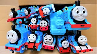 Many Thomas toys come out of the box! Thomas & Friends