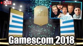 FIFA 19 HYPE!! GAMESCOM 2018 CREW STREAM