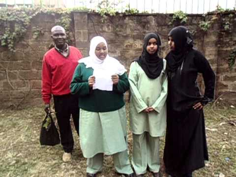 Muslim Secondary Girl Power Club Celebrates Wangari
