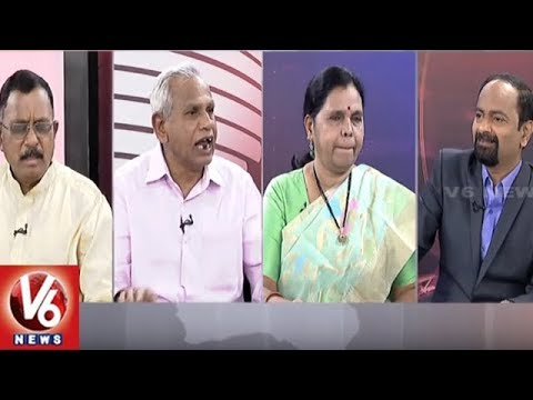 Special Debate On Uttam Announcement Over Early Elections | Good Morning Telangana | V6 News