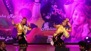 hey kanchi dhalkiyo joban magar community dance kauda dance in busan korea