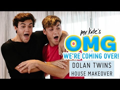 Dolan Twins House Makeover! | OMG We're Coming Over
