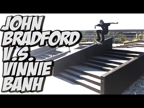 JOHN BRADFORD & VINNIE BANH SKATE THE VALLEY - A DAY WITH NKA  -