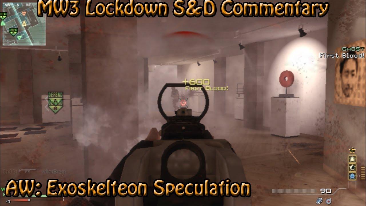 Warfare Exoskeleton Advanced Warfare Exoskeleton