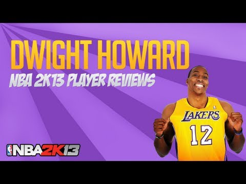NBA 2k13 Dwight Howard 93 Ovr Player Review