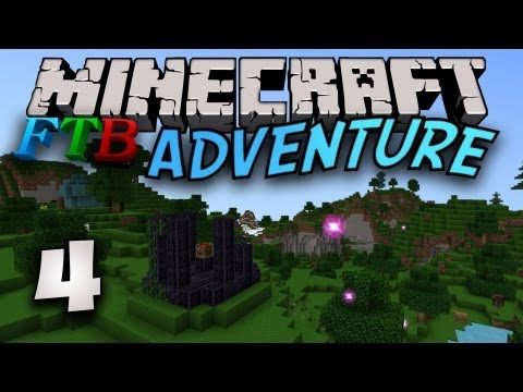 Minecraft FTB [Part 4] - Get Bees. Make Honey.