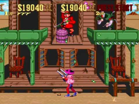 Sunset Riders: SNES (Hard) - Stages 1 and 2