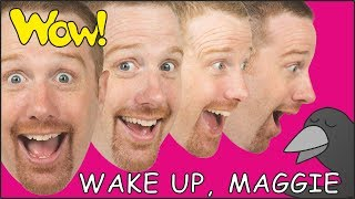 Wake up, Steve and Maggie. Jobs for Kids NEW. English Stories for Children | Learn Wow English TV