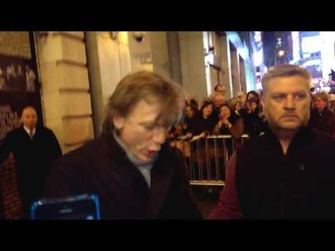 Daniel Craig - Betrayal Stage Door in NYC (11/5/13)