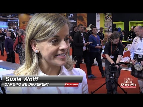 Interview with Susie Wolff