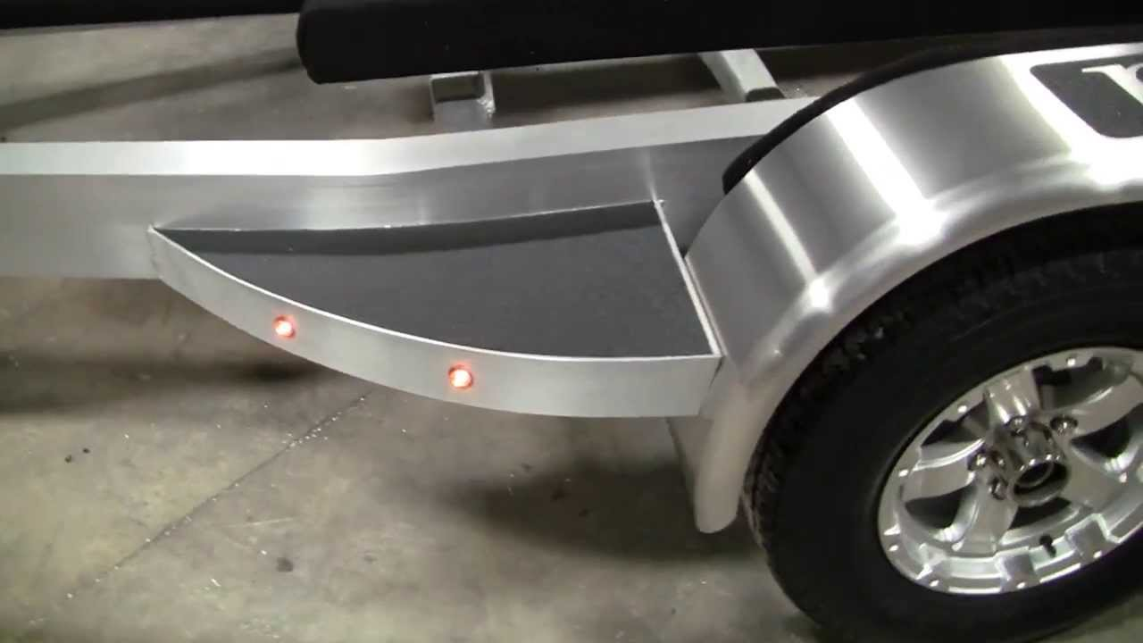 Custom aluminum boat trailers florida