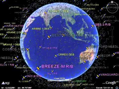 Cik daudz satelītu, šobrīd ir zemes orbītā