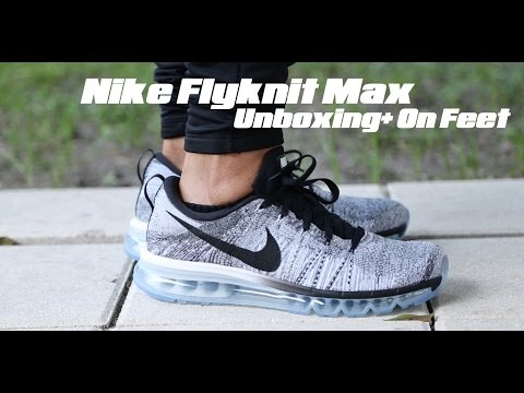 Nike Flyknit Max Unboxing + On Feet