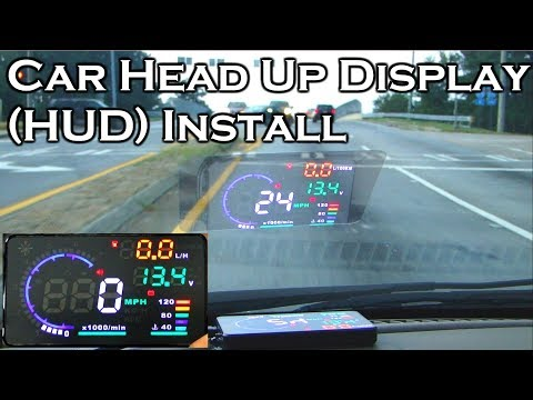 Car Head Up Display - A8 5.5