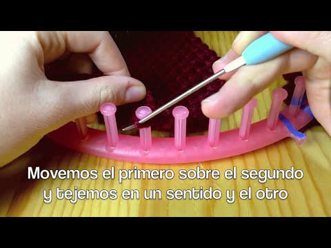 Cómo tejer en telar un gorro boina (Tutorial DIY)