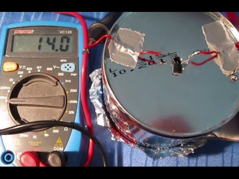 how to build a geiger counter / radiation detector from household materials