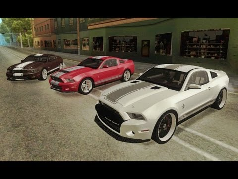 Ford Shelby GT500 [3 in 1 Pack] 2011 (GTA:SA)