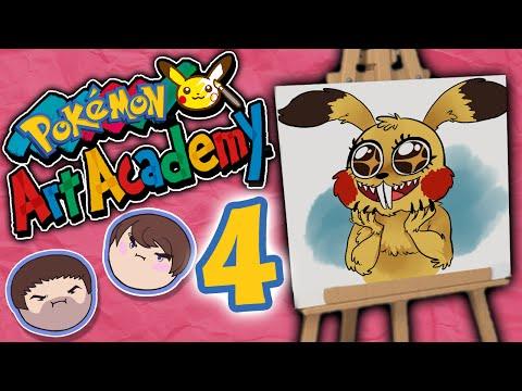 Pokemon Art Academy: Door to Hell - PART 4 - Grumpcade