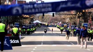 2014  Boston Marathon: Resilience