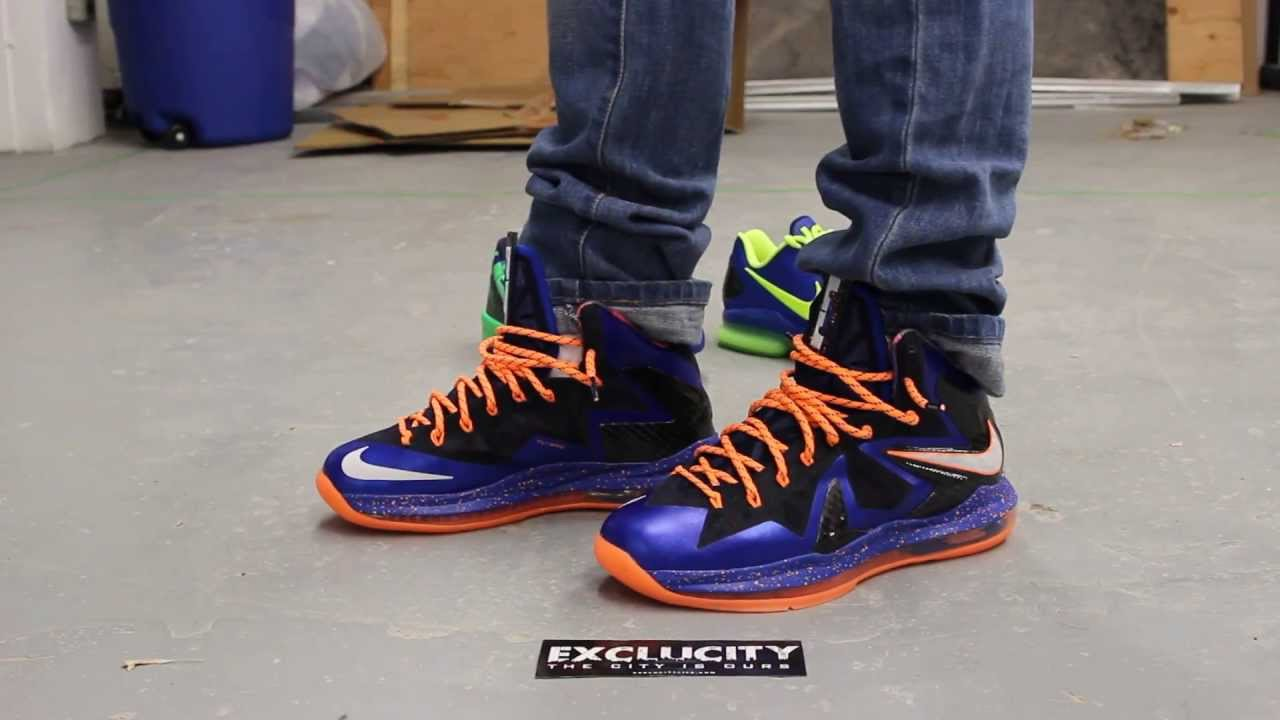 Lebron 10 Superhero Pack