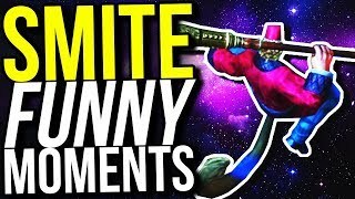 So you can fly in Smite now... (Smite Funny Moments)