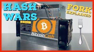 Hash Wars | Bitcoin Cash BCH | ABC vs SV Explained | Hard Fork Summary