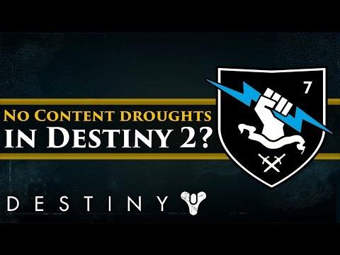 Destiny News - Destiny 2's plan for consistent content drops takes shape!
