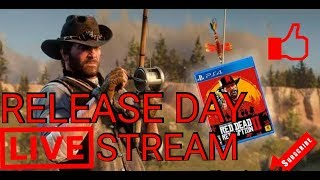 RED DEAD REDEMPTION 2 LAUNCH STREAM