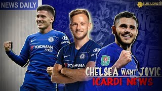 CHELSEA BID 45mil FOR JOVIC? || ICARDI ALERT!? --- Chelsea News