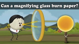 Convex Lens - Can a magnifying glass burn paper?