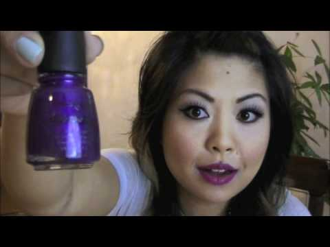 China Glaze Crackle Video