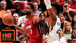 Miami Heat vs Utah Jazz Full Game Highlights | 12.02.2018, NBA Season  from MLG Highlights