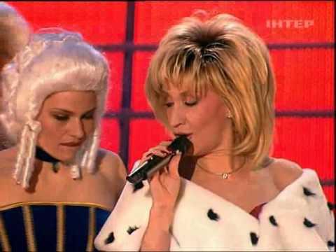 Ирина Аллегрова в творческом вечере Игоря Николаева 2003