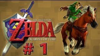 Guia Zelda - Ocarina of Time - # 1 Arbol Deku (Guía al 100% en la caja de comentarios)