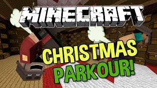 Minecraft: CHRISTMAS PARKOUR (Christmas Day Parkour)