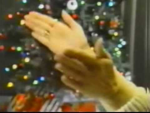 VINTAGE 80'S THE CLAPPER COMMERCIAL CHRISTMAS VERSION CLAP ON CLAP OFF