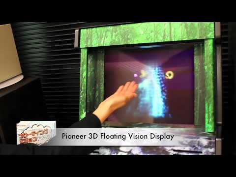 Pioneer 3D Floating Display - ShiftEast.com