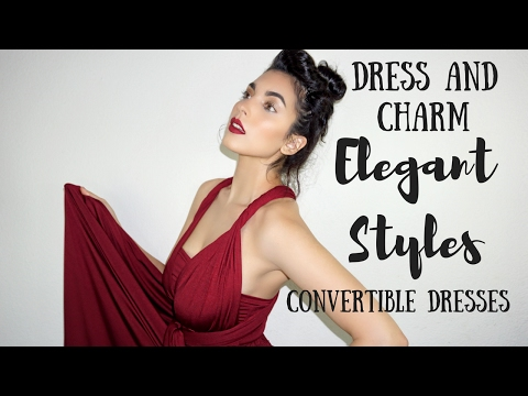Elegant infinity dress Styles - Convertible Dresses From Dress and Charm - Multiway Dress