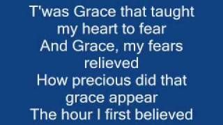 AMAZING GRACE with lyrics