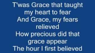 AMAZING GRACE with lyrics