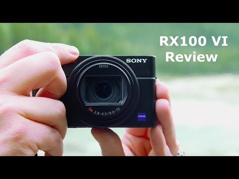 Sony RX100 VI  Hands-on Review with TCSTV