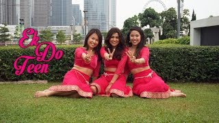 Ek Do Teen | Madhuri Dixit | Ek 2 Three Launch Dance | Christy, Janice & Hanisha