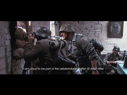 German WW2 War Film with Waffen-SS (Schutzstaffel) + Wehrmacht 1944 - Film Trailer - 5K HD