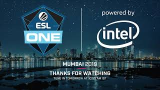 Live: ESL One Mumbai - Group Stage - Playoff