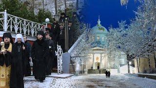 Суббота, канун Недели 32-й по Пятидесятнице пред Богоявлением, преп. Симеона Псково-Печерского