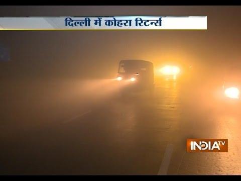 Dense Fog Delays Trains, Flights in Delhi