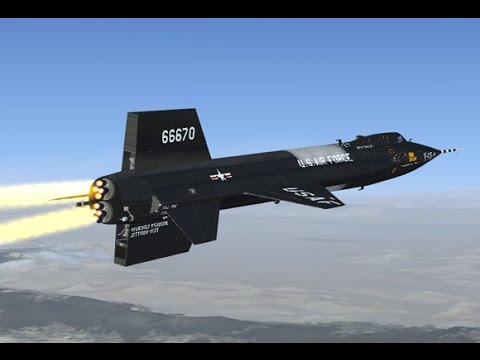 The Fastest X-Plane - Mach 7 North American X-15 (720p)