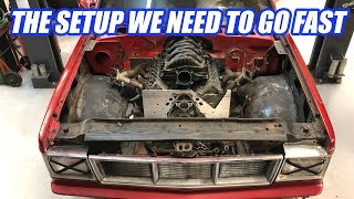 Building The Ultimate Truck!? Ep.2 From the Ground UP...and Back to the Ground!