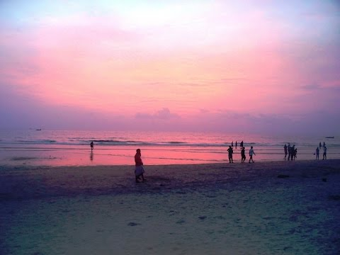 Colva Beach During Sunset - Goa Beach Video - India Tourism
